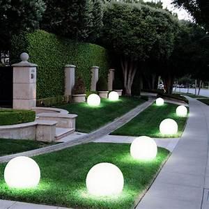 Gartenbeleuchtung Led Leuchten Garten : 6er set led solar lampen kugel design au en leuchten erd ~ Michelbontemps.com Haus und Dekorationen