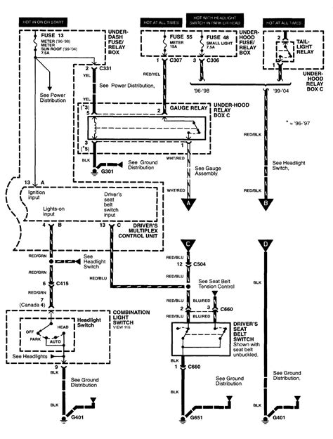 Acura Integra Ignition Wiring Diagram