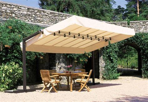 impressive canvas patio covers the home decor ideas