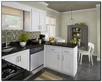 kitchen colors for white cabinets Kitchen Cabinet Colors Ideas for DIY Design | Home and ...