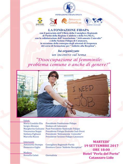 Ufficio Di Disoccupazione - disoccupazione al femminile problema comune o anche di