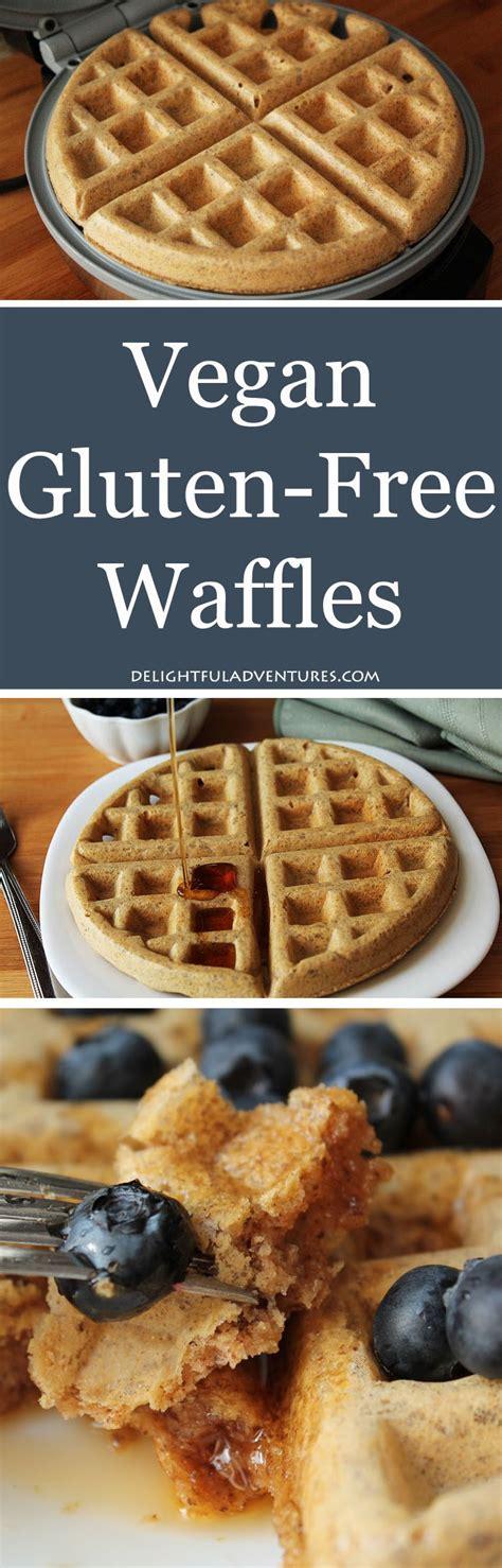 Gluten Free Vegan Waffle Recipe