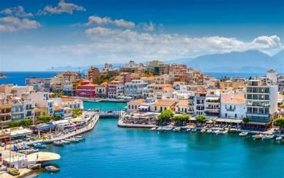 Greece 4k Mediterranean Sea Crete Travel Summer