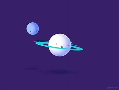 Saturn Hula Dribbble Space Planet Hooping Hoop