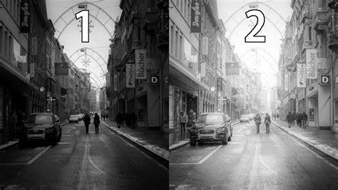 lightroom  black  white street photography editing