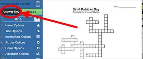 crossword puzzle maker world famous   teachers