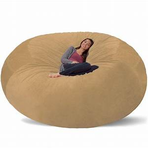 20 best collection of giant bean bag chairs sofa ideas for Big bean bag seat