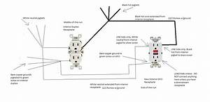 Duplex Outlet Wiring Diagram  U2013 Volovets Info