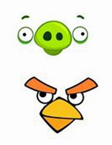 angry birds party free printables With angry bird pig template