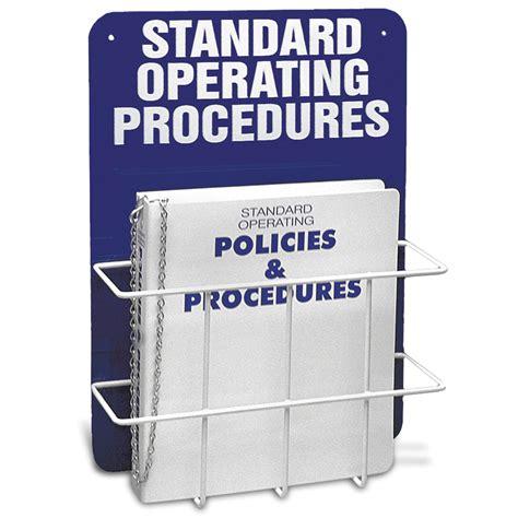 center wall single standard operating procedures center marketlab inc