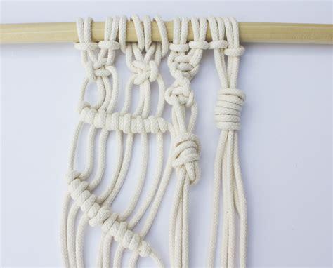 macrame  basic knots  master