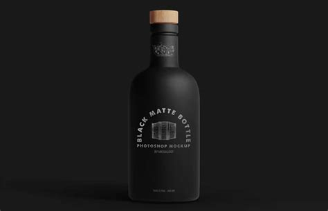Including multiple different psd mockup templates like cardboard box, cosmetics, coffee cup/mug, shopping bag, car and van mockups. Black Matte Bottle Mockup » CSS Author