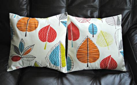 decorative pillow turquoise blue red orange yellow green