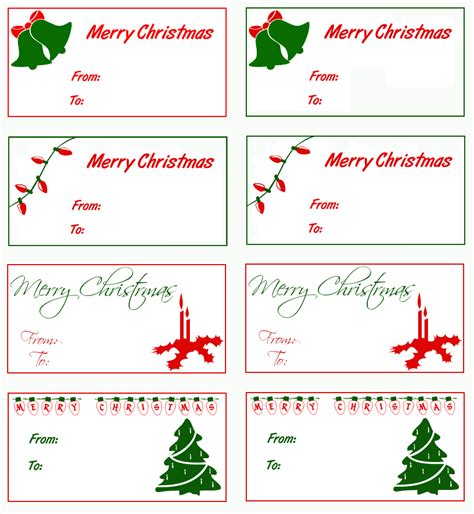 merry christmas clipart gift tag pencil and in color