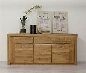 Sideboard Wildeiche Massiv Solido Made In Germany