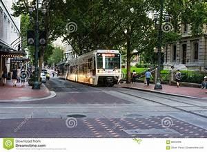 Light Rail In Portland Oregon Editorial Photo - Image ...