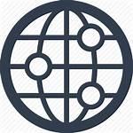 Icon Web Icons Internet Globe Communication Network