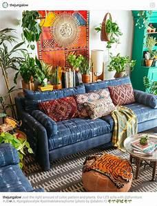 Boho Gypsy Living Room with super cozy couch! | Boho Decor ...