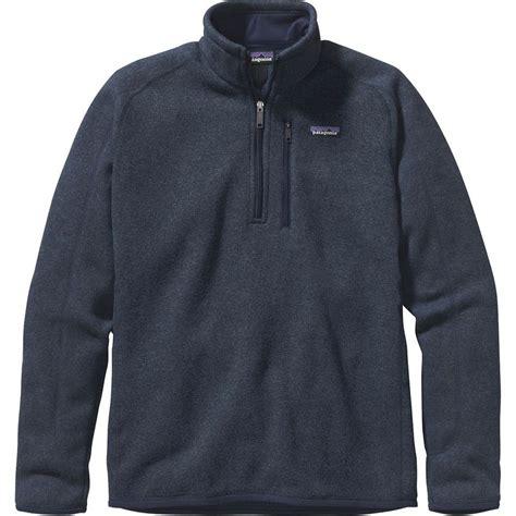 patagonia better sweater patagonia better sweater 1 4 zip 39 s backcountry com