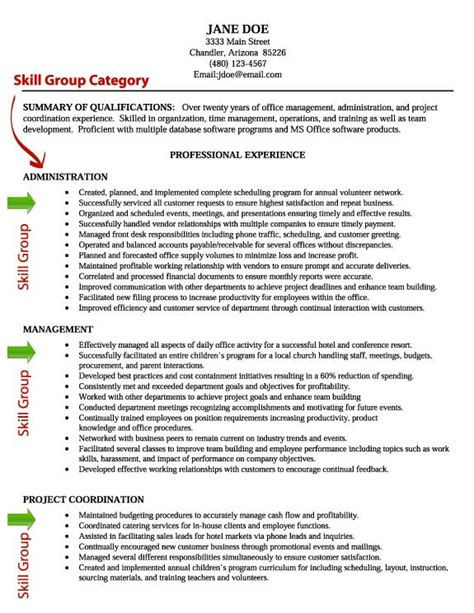 resume example for skills section resume skill writing