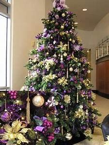 Purple Christmas Decorations on Pinterest