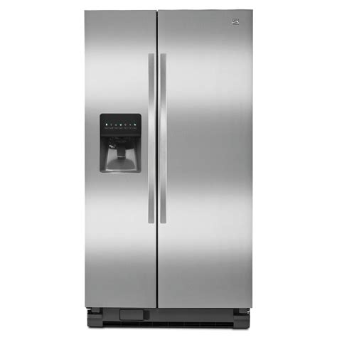 side by side refrigerator reviews kenmore 51123 25 cu ft side by side refrigerator