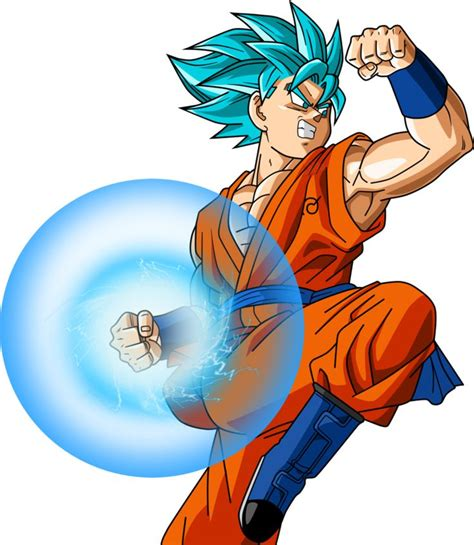 Songoku from new Movie Revival of F Dragonball z
