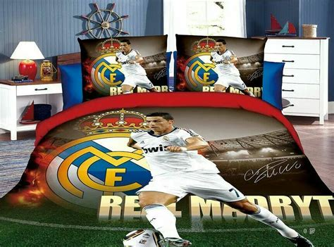 ronaldo football bedding set childrens boys bedroom
