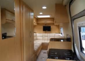 Mercedes Sprinter Camper Van Interior