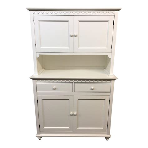 Cottage Style White Buffet Hutch Design Plus Gallery