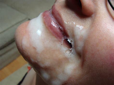 Cum Covered Lips Porn Pic Eporner