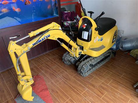 original pc  komatsu excavator smallest digger excavator honda engine hp