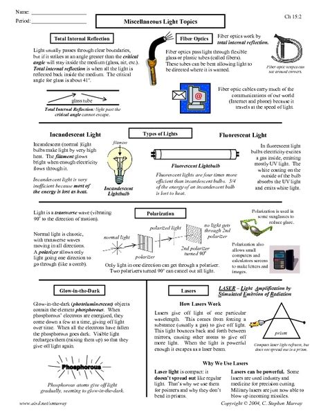 light worksheet key kidz activities