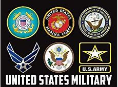 Amazoncom US Military Branches Poster US Military