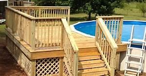 12x16 Deck On Round Pool