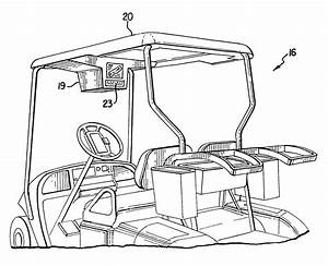 Patent Us6470242 - Display Monitor For Golf Cart Yardage And Information System