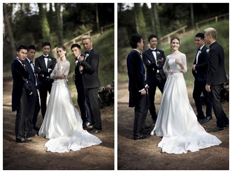 A Mountain-view Wedding With Vintage Pink Louboutins