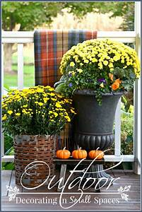 Outdoor, Decorating, In, Small, Spaces