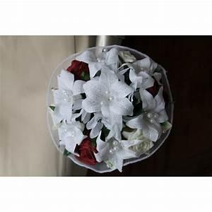 Bouquet De La Mariée : bouquet mari e rond ch rie l gant avec des roses lys ~ Melissatoandfro.com Idées de Décoration