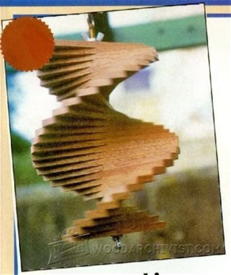 wooden wind spinner plans woodarchivist
