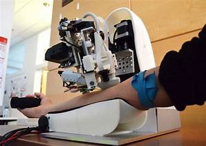 Robot Uses Ai And Imaging To Draw Blood