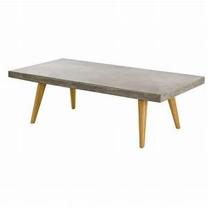 Table Basse En Beton : table basse b ton cir style scandinave zago store ~ Teatrodelosmanantiales.com Idées de Décoration