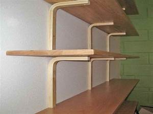 wall mounted bookcase wood