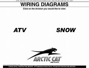 2000 2009 Arctic Cat Atv And Snowmobile Wiring Diagrams