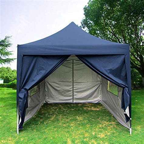 quictent privacy  blue ez pop  party tent canopy gazebo screen curtain  waterproof