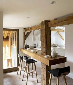 Deco Maison Avec Poutre : pour ou contre la cuisine ouverte sur le s jour ~ Zukunftsfamilie.com Idées de Décoration