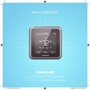Honeywell Th6220wf01 Th6220wf2006  Th6320wf2003