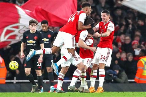 Arsenal vs. Manchester United - Football Match Report ...