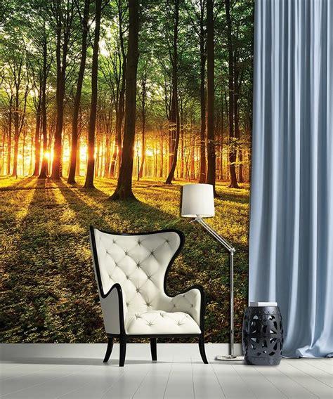 mural forest sunrice wall murals for wall homewallmurals Forest