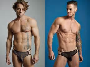 Underwear Model Men Long Hair